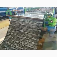 Профнастил и гладкий лист «Printech» под камень, забор из профнастила с доставкой