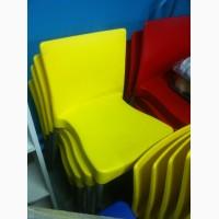 Стулья Корсика, пластик, красные, синие, желтые для кафе