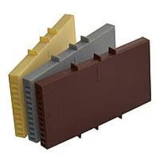 Вентиляционные коробочки для кирпичной кладки 115х60х9 мм