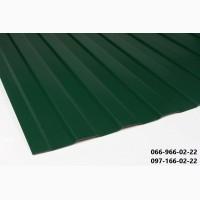 Зеленый профнастил рал 6005, Металлопрофиль ral 6005 зеленый, Профлист зеленого цвета 6005