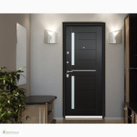 Металлические двери с панелями из МДФ