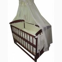 Акция! Комплект: кроватка, матрас, постель. Новое