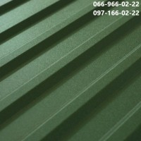 Профнастил Оливковый Рал 6020, Металлопрофиль Матовый Оливковый ral 6020