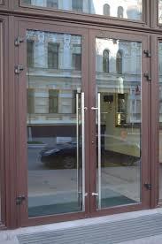 Фото 3. Алюминиевые двери входные для частного дома, офиса или магазина. Двери с покраской