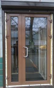 Фото 4. Алюминиевые двери входные для частного дома, офиса или магазина. Двери с покраской