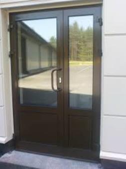 Фото 5. Алюминиевые двери входные для частного дома, офиса или магазина. Двери с покраской