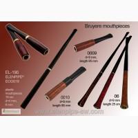 Мундштуки для сигарет пластик, вереск опт Elenpipe