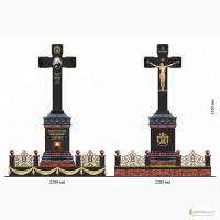Гранитные и мраморные надгробия
