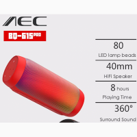 Продам 6Вт Светомузыкальную AEC BQ-615 Pro портативную колонку