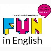 Репетитор английского для взрослых и детей (Винница или по Skype)