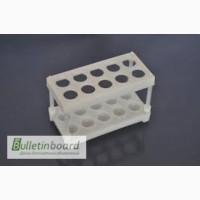 Штативы лабораторные, для пробирок, пластиковые 10, 20, 40 гнезд