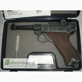 Стартовый пистолет ME Luger P-08