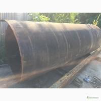 Труба стальная Б/У Ду 1220, длина 3320мм, стенка 10- 12 мм. Труба стальная Б/У 820
