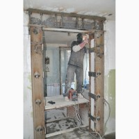 Усиление проемов, стен, колонн металлоконструкциями в Харькове