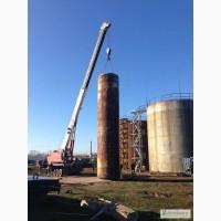 ТОВ «НВП УПТС» осуществляет по доступным ценам монтаж и перенос резервуаров РВС