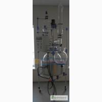 Продам реактор стеклянный (лабораторный) 100 л с нагревом
