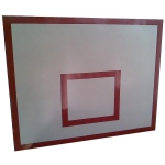 Баскетбольный щит металлический - 0, 8м х1, 0м