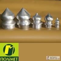 Алюминиевые наконечники для металлических заборов и оград
