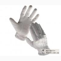 Перчатки официанта белые с вкраплением с манжетом и без от 6,98 грн