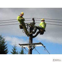 Прокладка силового кабеля