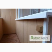 Обшивка балкона, лоджии ремонт. Вынос балконов с установкой пластиковых окон, отделка пла