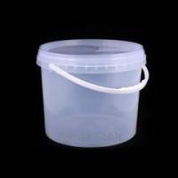 Ведро 3 литра полиэтиленовые пищевые с крышкой