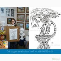 Школа живописи и рисунка в Днепропетровске (г. Днепре) предлагает пройти курсы рисования