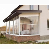 Мягкие ПВХ-окна для веранды, террасы, летней площадки