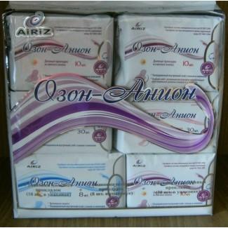 Гигиенические прокладки «Озон : Анион»