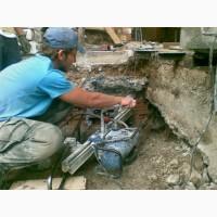 Алмазное сверление отверстий в бетоне Киев