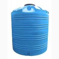 Емкость вертикальная на 10000 литров, пищевая бочка пластиковая, бак для воды