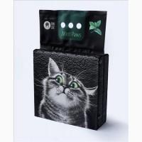 Наповнювач для котячого туалету Fun Cat Mint Paws