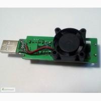 USB нагрузка с вентилятором на 1А 2А 3А, нагрузочный резистор, тестер емкости