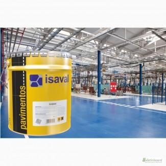 Краска для бетонных и цементных полов lSAVAL Изалпокс Эпоксидная 4 л, тонировка RAL