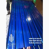 Синий профнастил РАЛ 5002, RAL 5002 синего цвета профлист