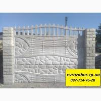 Бетонные заборы Еврозабор Ворота, калитки