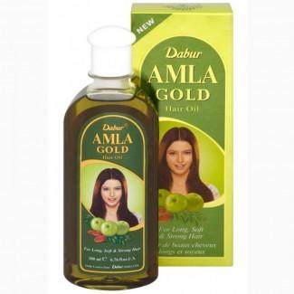 Масло для сухих и поврежденных волос Dabur Amla Gold Hair Oil