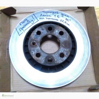 Тормозные диски передние 14 Ланос Lanos под проточку