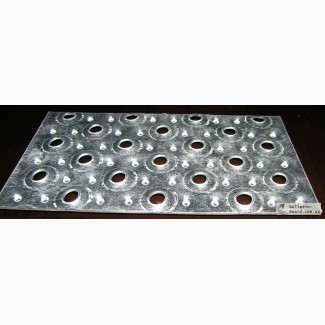 Перфорированый металлический лист - производство