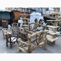 Садовая деревянная мебель. мебель ротанг