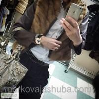 Весенняя куртка трансформер из меха норки распродажа