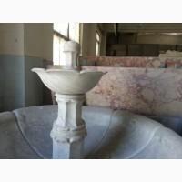 Фонтан из мрамора - для декорирования любого дома, сада, офиса, административного здания