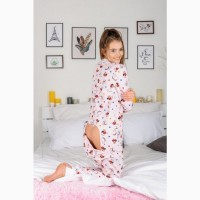 Пижама/домашний костюм/комбинезон с карманом на попе