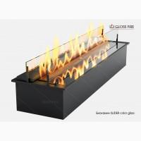 Дизайнерский биокамин Slider glass ТМ Gloss Fire