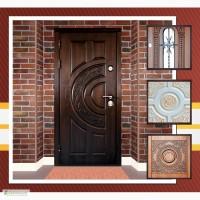 Металлические двери, виды и отделка