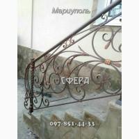 Лестницы металлические, лестничные ограждения и балконные ограждения, кованые перила