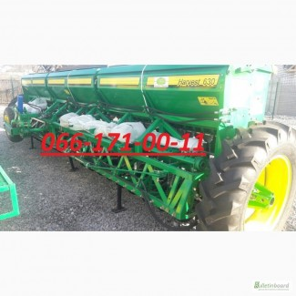 Мега сеялка Harvest 630 - 02 (з прикатуючими катками, транспортным устройством, 42 рядка)