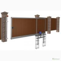 Изготовление и установка откатных (сдвижных ) ворот