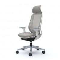 Кресло офисное OKAMURA SYLPHY Light Gray Япония, полированное