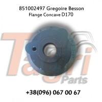 851002497 Фланець вала D170 Gregoire Besson